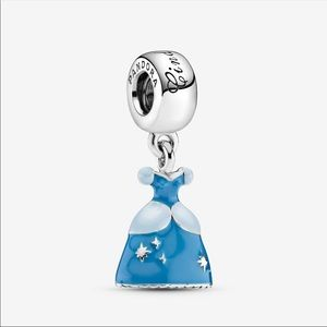 Authentic Pandora Cinderella Dress Charm